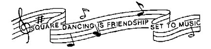 Square Dance Is Friendship To Music Message
